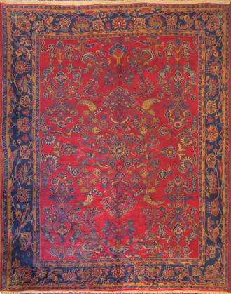 A Mahajiran Sarouk Carpet