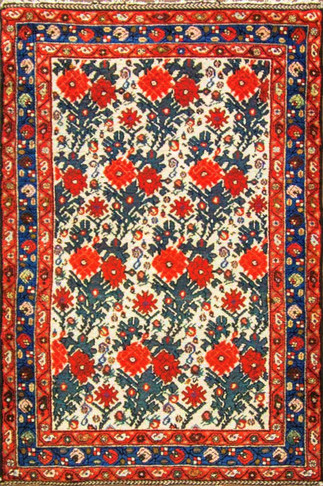Fascinating Bakhtiari Rug