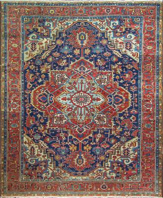 A Karajah Serapi Carpet