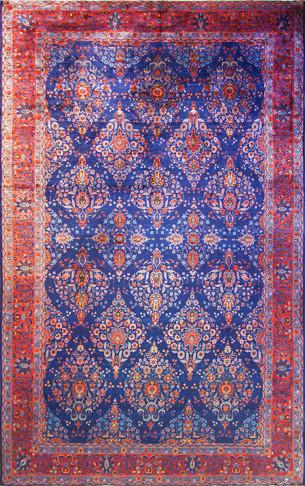 Fine Persian Manchester Kashan Carpet