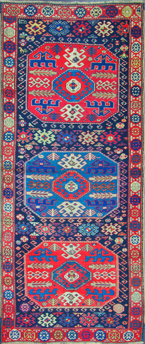 A Kazak Long Rug