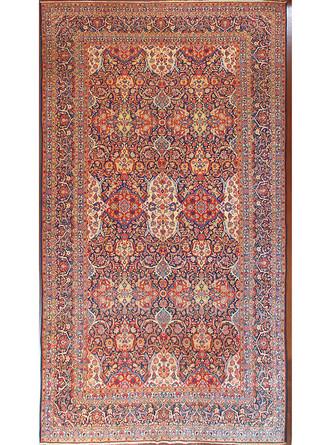 A Kashan Dabire Carpet