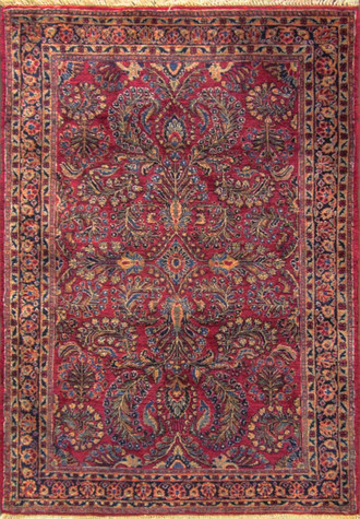 c-1920 Grape design Persian Sarouk