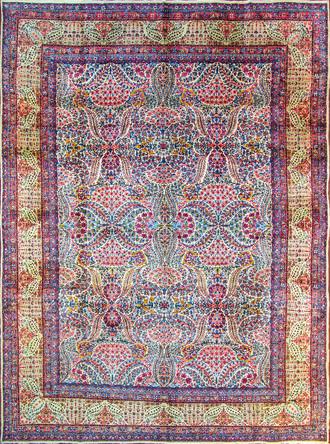 A Laver Kerman Carpet