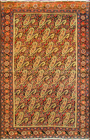 An Senneh Melayer Rug