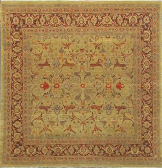 Heriz Design Rug, Tribal,