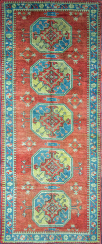 An Antique Ushak Rug