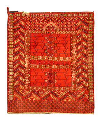 A Turkuman Engsi Prayer Rug
