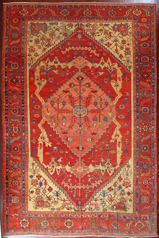 A Serapi Carpet