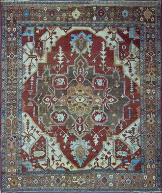 A Bakshis Serapi Carpet