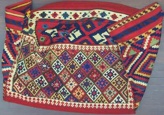 An Azerbaijan Cargo Bag, Mafrash - Bedding Bags,