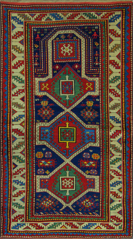 A Kazak Prayer Rug