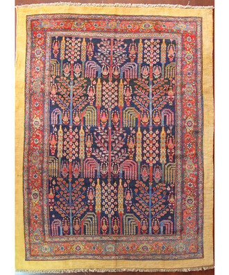 A Bijar Carpet