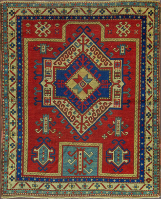 A Fachralo Kazak Prayer Rug