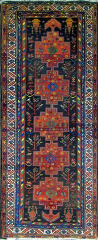 An Antique Bakhtiari Rug