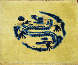 A Chinese Peking Dragon Mat