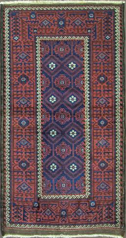 Incredible Antique Belouch Rug