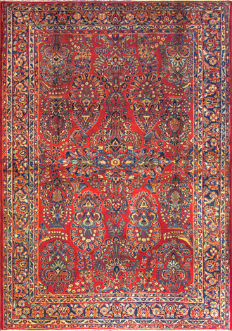 Marvelous Persian Sarouk, c-1920's