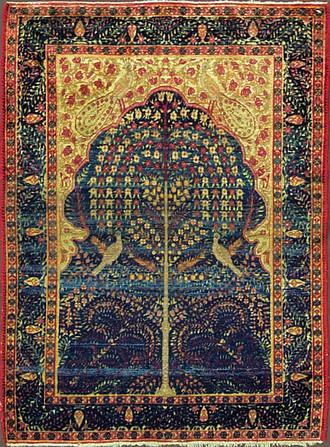 A Kermanshah Rug