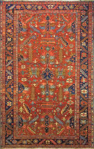 Antique Heriz Village Carpet