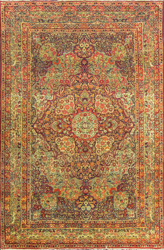 Antique Kermanshah Carpet