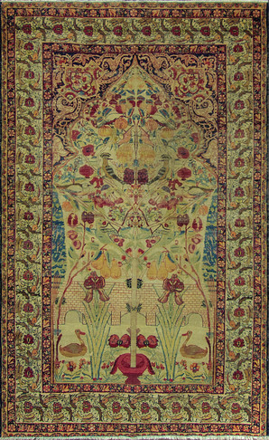 Striking Antique Persian Kermanshah
