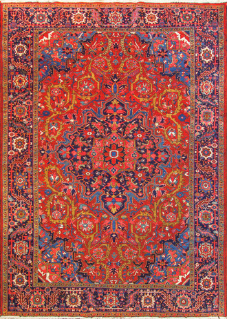 Incredible Heriz Carpet