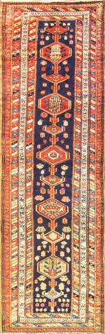 Antique N.W. Persian Runner