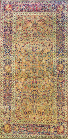 Stunning Antique Kermanshah, Gallery Size
