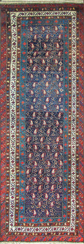 Stunning Antique Persian Kurdish Runner
