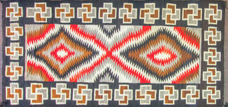Large Navajo Eye Dazzler Rug