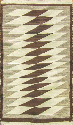Wonderful Two Grey Hills Navajo Rug Littaning Patterns