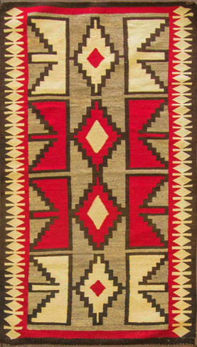 Wonderful Ganada Navajo Rug