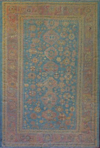 Antique Oushak Carpet