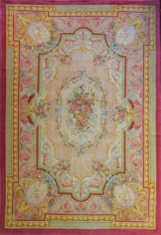 French Savonnerie, Aubusson Classic Carpet