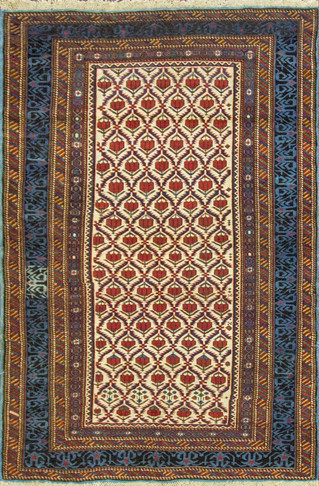 Antique Kuba, Kazak Rug, Caucuses