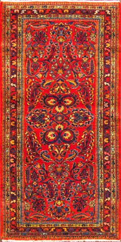 Short Persian Lilihan  Runner,