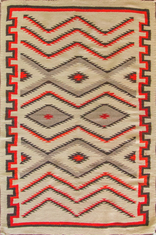 Amazing Antique Navajo Rug