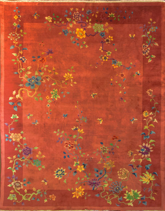 Antique Art Deco Carpet